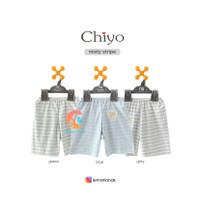 CHIYO 3pcs Celana Pendek Motif Size S,M,L (6-18 Months)