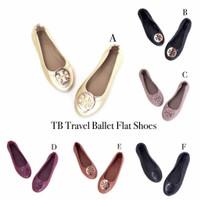 Travel Ballet Flat Shoes Wanita TB*