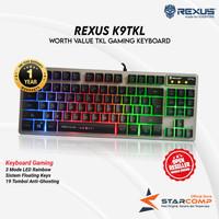 Keyboard Gaming Rexus K9TKL / K9 TKL Backlit Fortress Battlefire