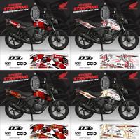 Sticker Striping Motor Honda Cb Verza 150 New Variasi AR-03 DOFF