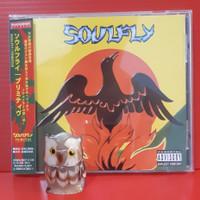 CD SOULFLY - PRIMITIVE Japan OBI Sepultura Max Cavalera Machine Head