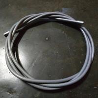 kabel slongsong luar vespa warna abu gas kopling persneleng rem depan