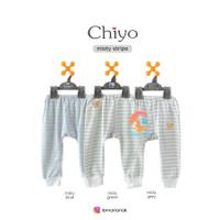 CHIYO 3pcs Celana Panjang Motif Size S,M,L (6-18 Months)