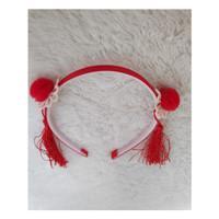 bando imlek CNY merah