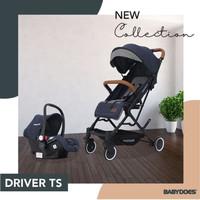 Stroller Babydoes Driver Travel System / Cabin Size
