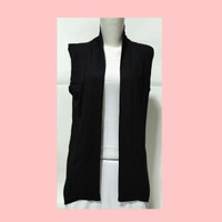 Cardigan/Outer Wanita Tanpa Lengan/Lekbong(Size XL)-Bahan Spandek