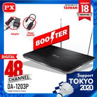 Antena TV Indoor Digital Analog DVB-T2 + Booster PX DA-1203P