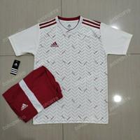 jersey | setelan futsal polkadot01 | baju bola dewasa | realpict