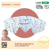 3PCS Popok Kain Bayi Motif Fullprint (SNI) Newborn-1 tahun