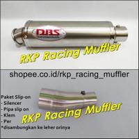 Knalpot DBS titan Ninja 250 R FI RR Mono Z250 R25 MT25 CBR250RR Xmax