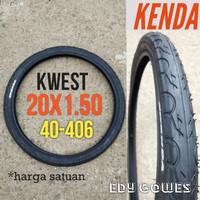 Ban luar kenda KWEST 20x1.50 ban luar sepeda lipat folding bike
