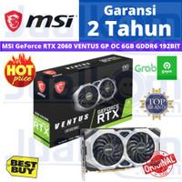 MSI GeForce RTX 2060 VENTUS GP OC 6GB GDDR6 192BIT RTX2060 VGA