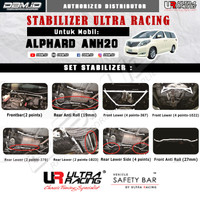 Stabilizer Ultra Racing Toyota Alphard 2.4/3.5 Rear lower side 4point
