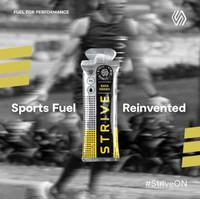 STRIVE Energy Gel rasa Nanas se Box isi 5 pcs ~ Suplemen Olahraga