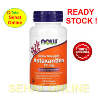 Now Foods Astaxanthin 10 mg 60 Softgels