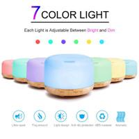 Humidifier Ultrasonic + Remot Aroma Diffuser Colorful LED 300ml /500ml