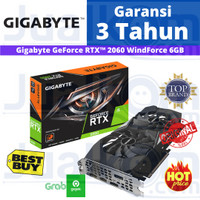 Gigabyte GeForce RTX™ 2060 WindForce 6GB DDR6 192bit RTX2060