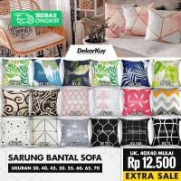 Sarung Bantal Sofa Custom Uk. 30, 40, 45, 50, 55, 60, 70