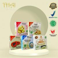THAI Rice Milk Soap / Goat Milk Soap / Pearl / Papaya / Bengkoang 50g