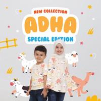 Baju Kaos Anak Muslim Ammar Kids Sarimbit Couple Adik Kakak Idul Adha