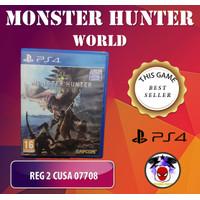 Game Monster Hunter World PS4 (Original-Second)