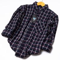 Kemeja Pria Premium Lengan panjang Baju Cowok Style Kekinian HX62