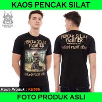 Kaos Pencak Silat Fighter Hanzo Fight Gear,Kaos Silat Hanzo Fight Gear