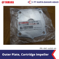 Yamaha Genuine Parts Outer Plate, Cartridge Impeller 60C-44323-40