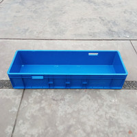 BAK PLASTIK TEBAL / BOX WADAH KOTAK PENYIMPANAN / BAK IKAN HIAS 100 CM