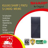 KULKAS 2 PINTU 205 LITER SHARP SJ-246XG-MS