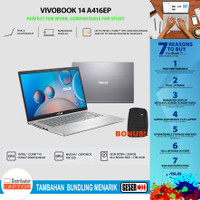 Asus Vivobook A416EP FHD5211 - i5-1135G7 MX330 8GB 256ssd+1TB 14 FHD