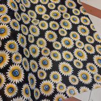 kain sifon motif bunga/chiffon corak/ceruti motif/bahan atasan outer