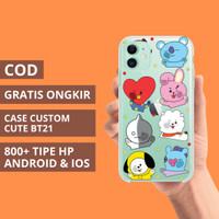 Custom Case Casing Softcase All Type Hp Bt21 Lucu Premium iPhone