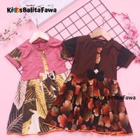 Dress Pita Bayi 3 - 12 month (++) / Baju Bayi Dress Baby Harian Batik