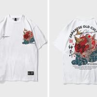 kaos Memphis pria dan wanita baju t shirt kaos premium - ms005, L