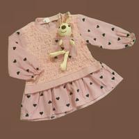 Baju Dress Anak Perempuan Import Katun Adem Fashion Bayi Perempuan 27 - SIZE 5