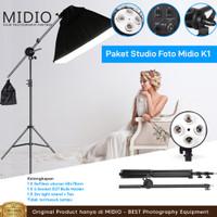 Paket Studio Foto Midio K1 Untuk Foto Studio Baju Anak dan Dewasa