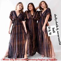 Longdress pantai bali /longdress tye die /baju santai dari bali - Foto display