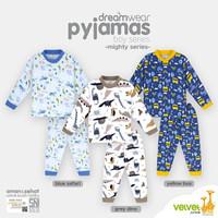 VELVET JUNIOR Piyama Boy - Baju Tidur Anak Size 3 Tahun
