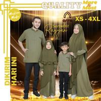 Baju Couple Keluarga Muslim Sarimbit Seragam Pasangan Suami Istri ARRA - Koko Ayah, M