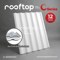 Atap uPVC Rooftop C-Series C Series Dingin Rumah Gedung Ruko