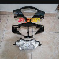Batok kepala depan Belakang Honda Supra X 125 lama/Old+Reflektor Lampu
