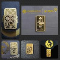 Logam mulia antam Batik Series II10gr unboxing segel.