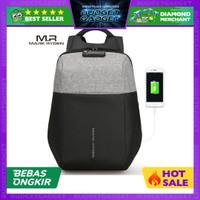Mark Ryden Tas Ransel Anti Maling dengan USB Charger Port - MR6768
