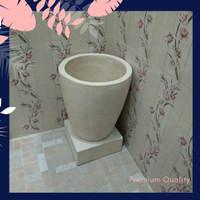 bak mandi minimalis, bak mandi modern tipe gelas bali