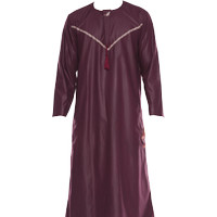 Baju Gamis Pria Modern - Jubah Pria / - Kucir - Style Harromain