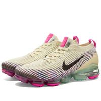 Sepatu Nike Air Vapormax Flyknit 3 Woman Fossil Pink Blue Original