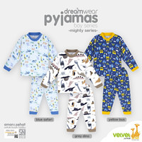 VELVET JUNIOR Piyama Boy - Baju Tidur Anak Size 6 Tahun