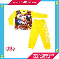 Kaos Setelan Piyama Baju Tidur Anak Laki Laki Umur 1-10 Tahun Ultraman