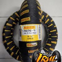Ban Pirelli SL38 Unico Uk 110/70 Ring 11 For Vespa LX, LS